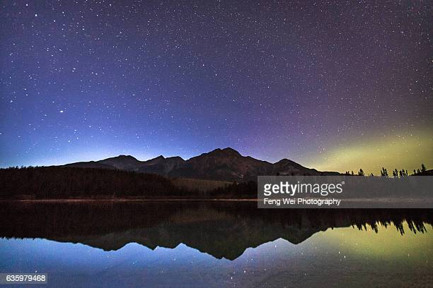 Starry Night @ Patricia Lake, Jasper National Park, Alberta, Canada