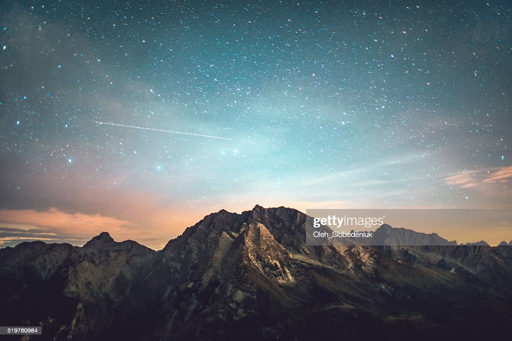 Starry night : Stock Photo