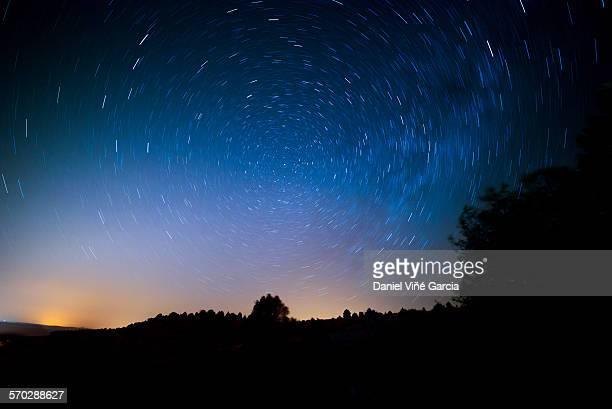 Starry Rotating Night