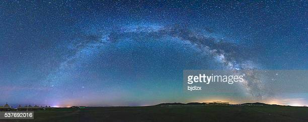 starry sky background - milky way stock pictures, royalty-free photos & images