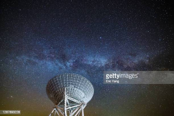 starry sky exploration - radio stock pictures, royalty-free photos & images