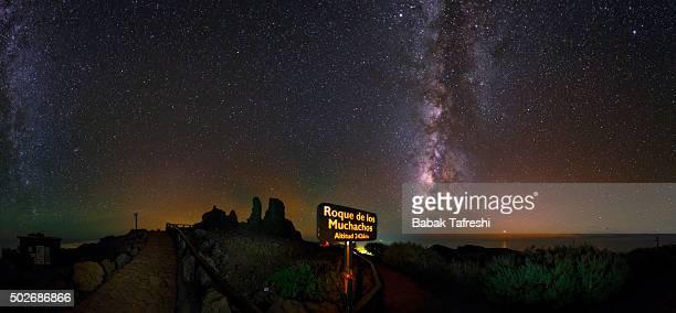 Starry Sky of La Palma