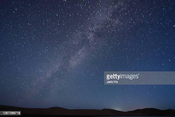 starry sky - 自然保護区 ストックフォトと画像