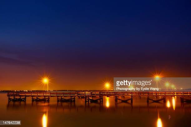 starry sunset - wantagh stock pictures, royalty-free photos & images