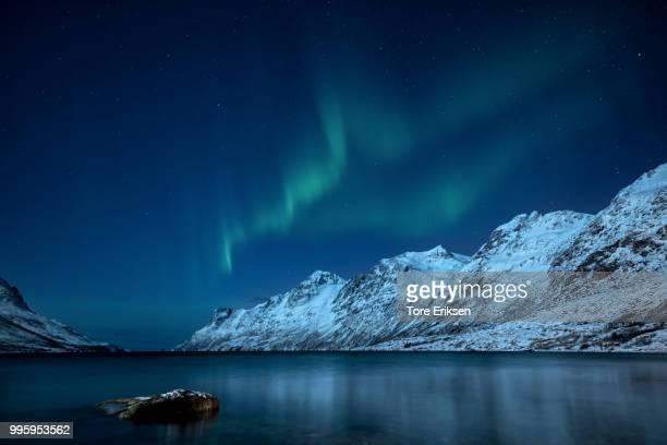 Stars and Aurora over Ersfjorden