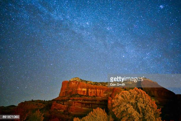 Stars and Red Rock