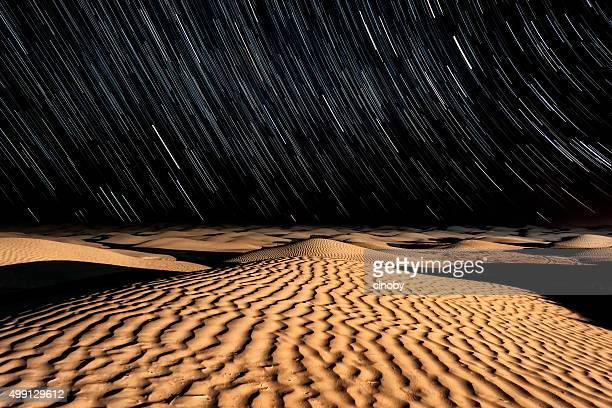 Stars and Sand - Night sky in the Sahara Desert