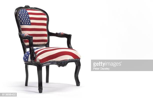 Stars and stripes chair landscape
