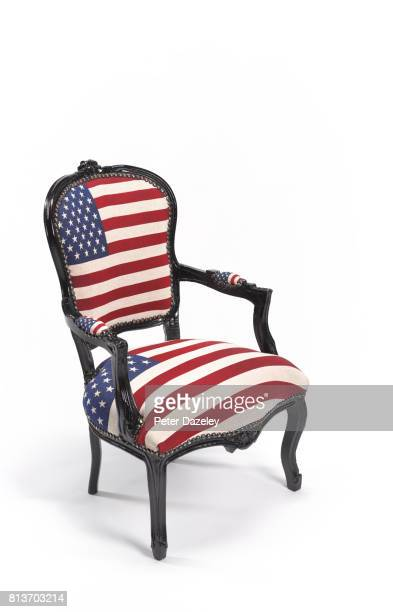 Stars and stripes chair upright