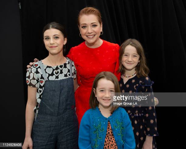 KIM POSSIBLE Stars attend the premiere of the liveaction Disney Channel Original Movie 'Kim Possible' at the Television Academy of Arts Sciences on...