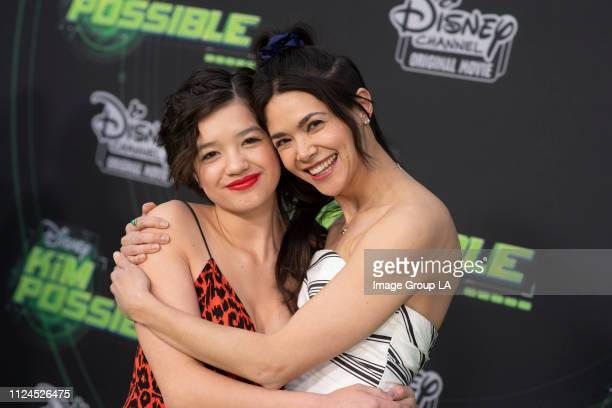 """Stars attend the premiere of the live-action Disney Channel Original Movie """"Kim Possible"""" at the Television Academy of Arts & Sciences on Tuesday,..."""