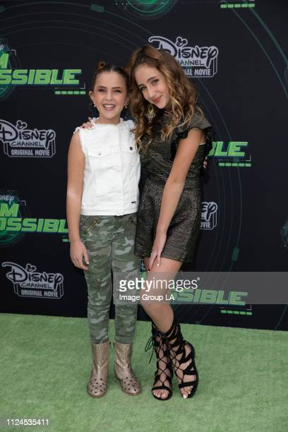 KIM POSSIBLE Stars attend the premiere of the liveaction Disney Channel Original Movie Kim Possible at the Television Academy of Arts Sciences on...
