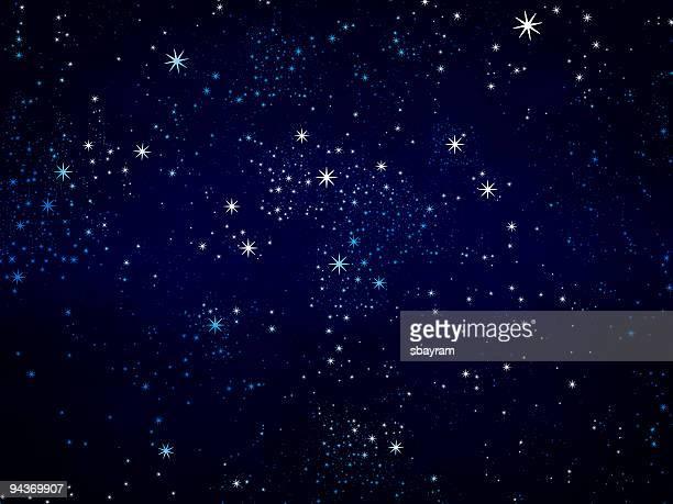 Étoiles en arrière-plan
