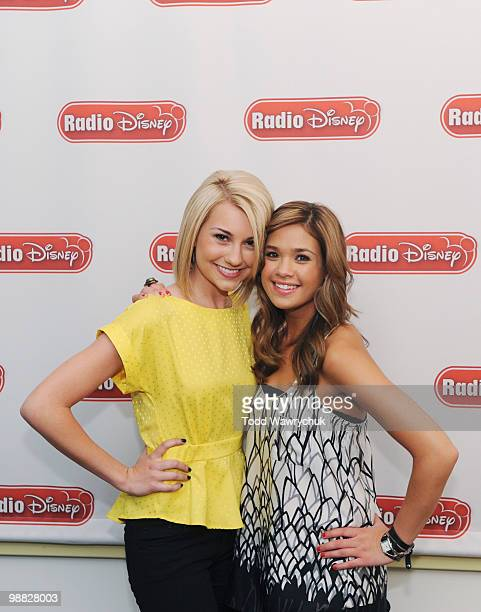 Stars Chelsea Staub and Nicole Anderson joined Radio Disney for a Take Over with Ernie D to discuss the new season of their Disney Channel Original...