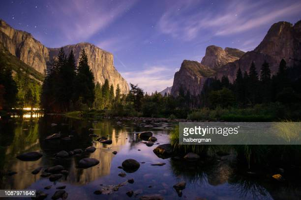 Stars Coming Out Over Yosemite Valley