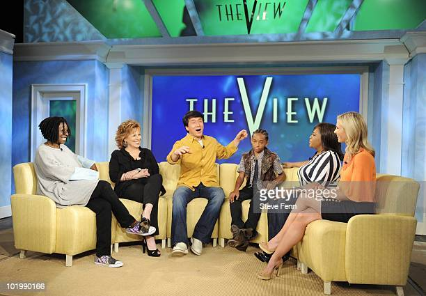 THE VIEW Stars from the new Karate Kid movie Jackie Chan and Jaden Smith visit THE VIEW 6/11/10 airing on the Walt Disney Television via Getty Images...