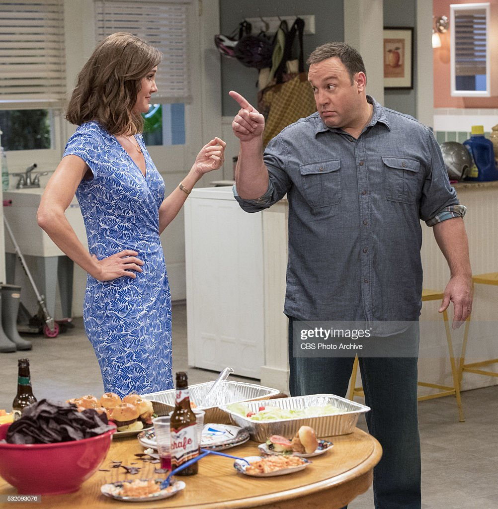 WAIT stars Kevin James (pictured) as a newly retired police officer looking forward to spending carefree, quality time with his wife (Erinn Hayes, pictured) and three kids, only to discover he faces tougher challenges at home than he ever did on the streets. This fall, KEVIN CAN WAIT will be broadcast Mondays (8:30-9:00 PM, ETPT) on the CBS Television Network, before moving to Mondays (8:00-8:30 PM, ETPT) in October after football ends.