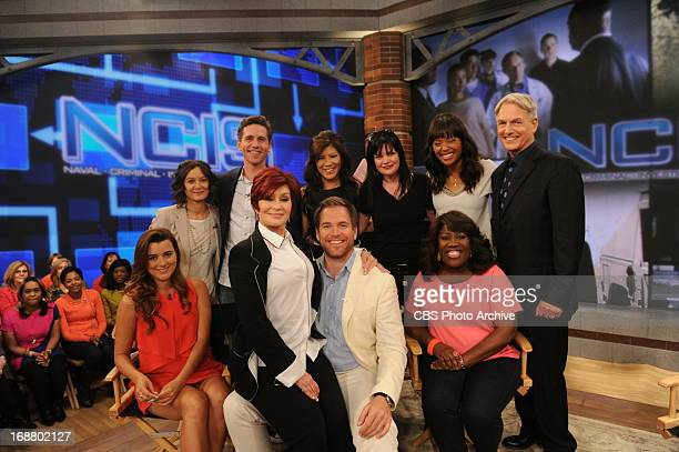 Stars Mark Harmon, Michael Weatherly, Cote de Pablo, Pauley Perrette and Brian Dietzen join the ladies of The Talk on Tuesday, May 14, 2013 on the...