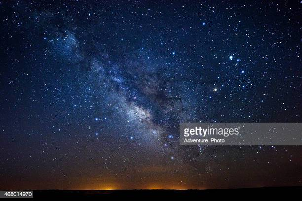 stars milky way - milky way stock pictures, royalty-free photos & images