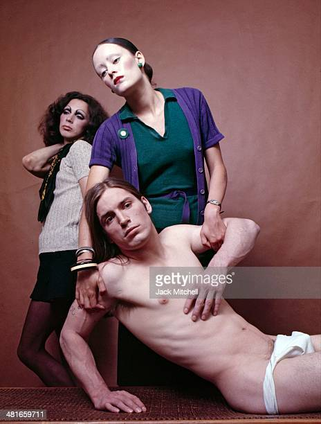 Stars of Andy Warhol's 'Trash' Jane Forth and Joe Dallesandro in 1970