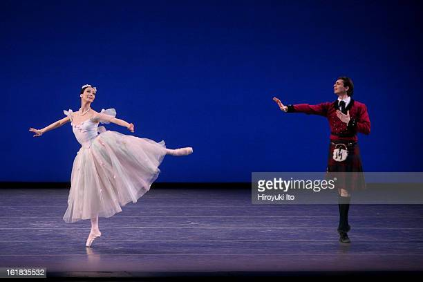 """Stars of the 21st Century: International Ballet Gala"" at New York State Theater on Monday night, February 11, 2008.This image;Svetlana Lunkina and..."