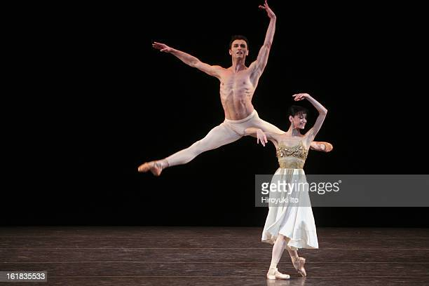 """Stars of the 21st Century: International Ballet Gala"" at New York State Theater on Monday night, February 11, 2008.This image;Lucia Lacarra and..."