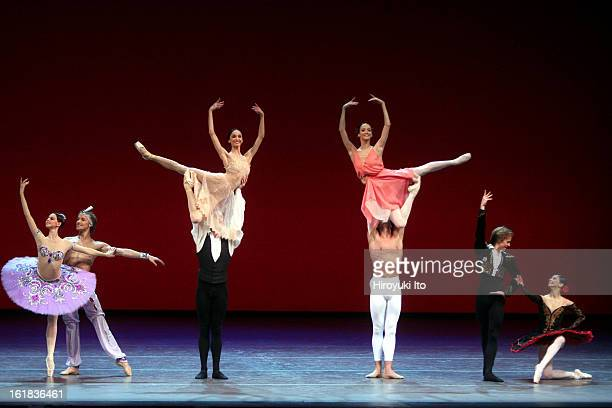 """""""Stars of the 21st Century: International Ballet Gala"""" at New York State Theater on Monday night, February 11, 2008.This image;Dancers performing in..."""
