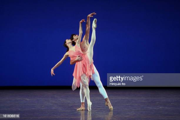 """""""Stars of the 21st Century: International Ballet Gala"""" at New York State Theater on Monday night, February 11, 2008.This image;Svetlana Lunkina and..."""