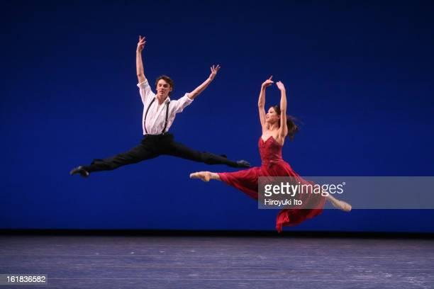"""Stars of the 21st Century: International Ballet Gala"" at New York State Theater on Monday night, February 11, 2008.This image;Ronald Savkovic and..."