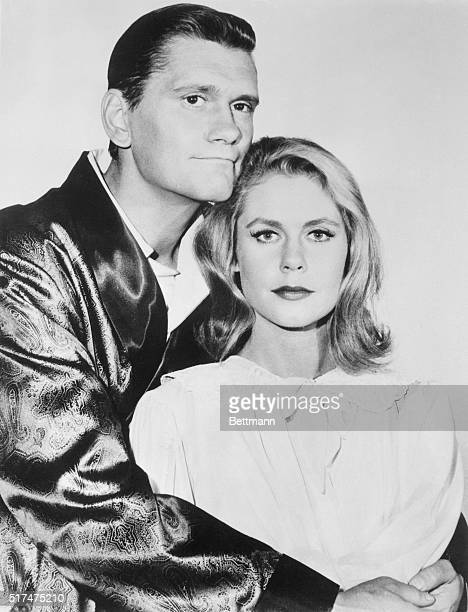 Stars of the ABCTV program Bewitched starring Elizabeth Montgomery Dick York and Agnes Moorhead