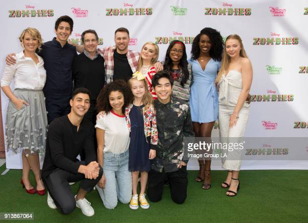 ZOMBIES Stars of the Disney Channel Original Movie ZOMBIES attend a screening event with kids and families on Saturday February 3 The music and...