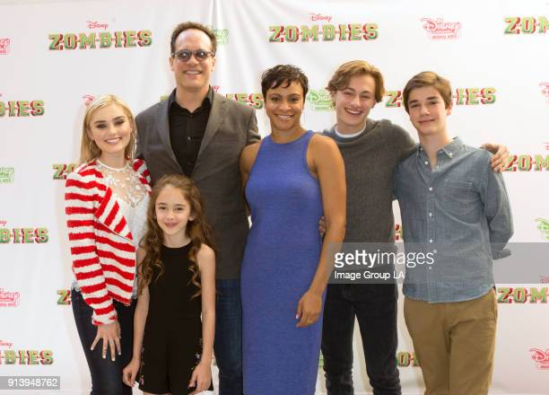 ZOMBIES Stars of the Disney Channel Original Movie 'ZOMBIES' attend a screening event with kids and families on Saturday February 3 The music and...