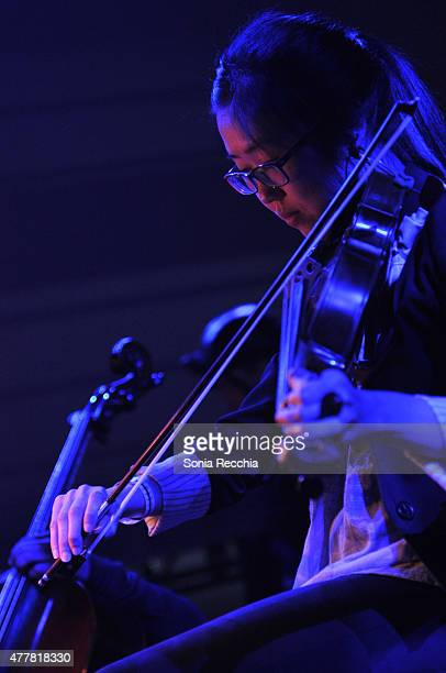 Stars Of The Lid feat Kensington Ensemble performs at Unsound Toronto At Luminato Festival on June 19 2015 in Toronto Canada
