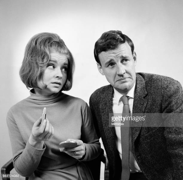 Stars of The Marriage Lines, BBC TV Comedy Series which takes a light hearted look at newly weds. Prunella Scales as Kate Starling & Richard Briers...