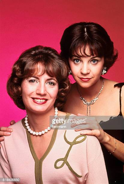 Stars of the TV series Laverne and Shirley actresses Penny Marshall and Cindy Williams