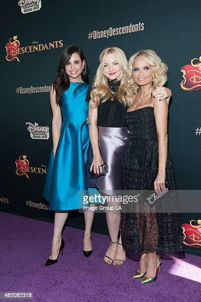 """Stars of the upcoming Disney Channel's movie """"Descendants"""" and its director Kenny Ortega were the guests of honor at a screening party held at Disney..."""