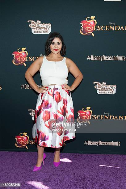 DESCENDANTS Stars of the upcoming Disney Channel's movie Descendants and its director Kenny Ortega were the guests of honor at a screening party held...