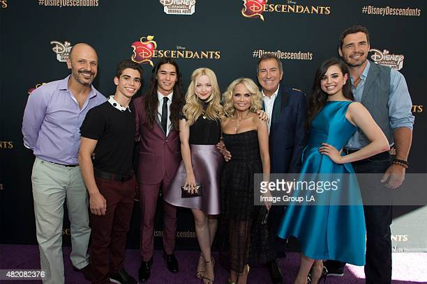 DESCENDANTS Stars of the upcoming Disney Channel's movie 'Descendants' and its director Kenny Ortega were the guests of honor at a screening party...