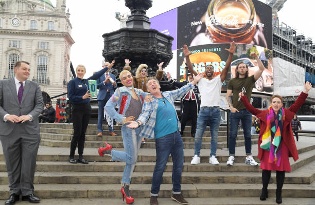 GBR: Official Reopening Of London's West End – Photocall