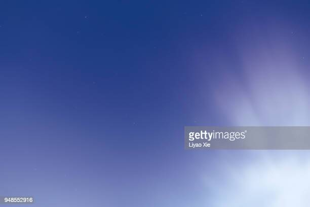 stars on a clear night - liyao xie stock pictures, royalty-free photos & images