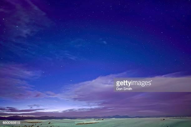 stars over dunes - don smith stock-fotos und bilder