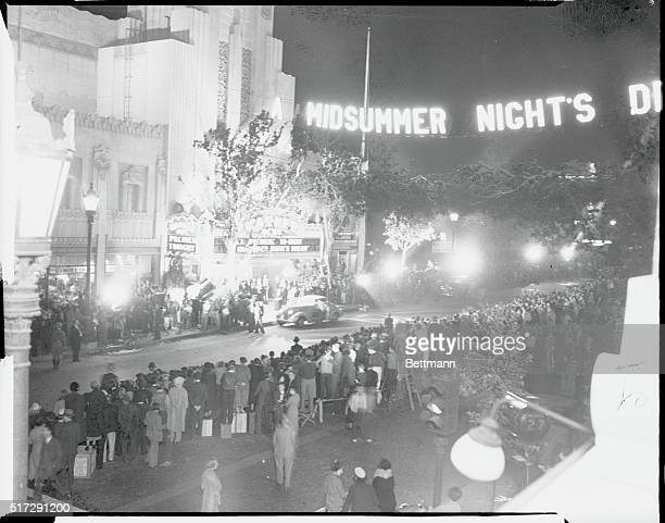 Stars Twinkle in Midsummer Night's Premiere Hollywood Los Angeles California It took William Shakespeare to revive the waning brilliance of Hollywood...