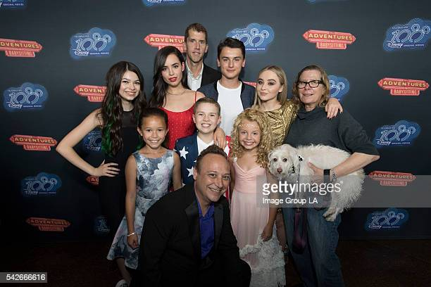DCOM 'ADVENTURES IN BABYSITTING' PREMIERE Stars writers directors and producers of Disney Channel Original Movies celebrated the 100th title in the...