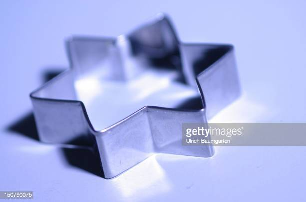 Starshaped pastry cutter for biscuits