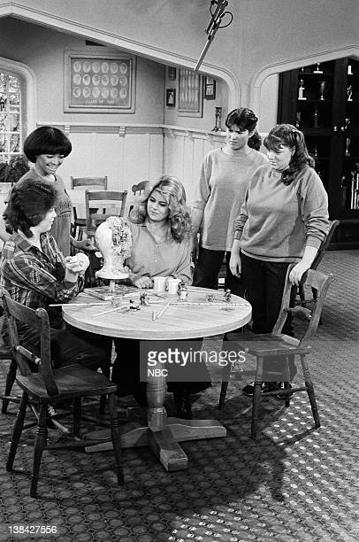 LIFE Starstruck Episode 15 Pictured Kim Fields as Dorothy 'Tootie' Ramsey Lisa Whelchel as Blair Warner Nancy McKeon as Joanne 'Jo' Polniaczek Mindy...