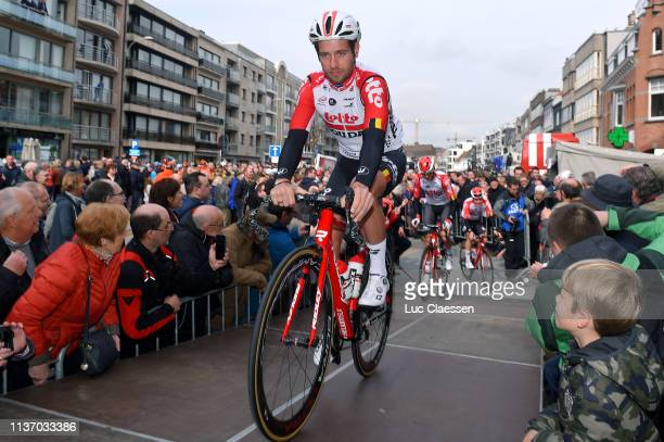 Start / Adam Blythe of United Kingdom and Team Lotto Soudal / during the 74th Nokere Koerse Danilith Classic 2019 a 1956km race from Deinze to Nokere...