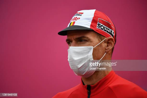 Start / Adam Hansen of Australia and Team Lotto Soudal / Alba Village / during the 103rd Giro d'Italia 2020, Stage 20 a 190km stage from Alba to...