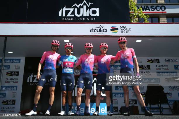 Start / Alex Howes of The United States and Team EF Education First / Daniel Felipe Martinez Poveda of Colombia and Team EF Education First Blue Best...