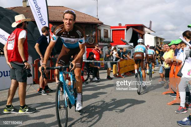 Start / Alexandre Geniez of France and Team AG2R La Mondiale / during the 73rd Tour of Spain 2018, Stage 11 a 207,8km stage from Mombuey to Ribeira...