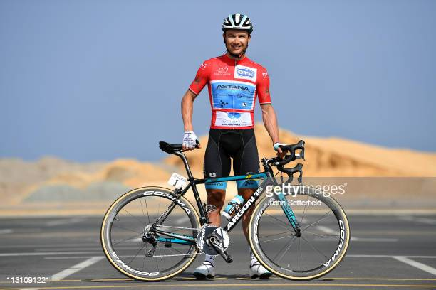 Start / Alexey Lutsenko of Kazahkstan and Astana Pro Team Red Leader Jersey / Argon 18 Bike / during the 10th Tour of Oman 2019, Stage 6 a 135,5km...